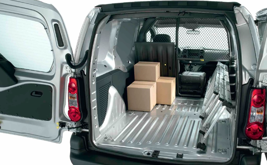 ситроен берлинго грузовой фургон установка сидений
